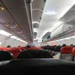 air asia dentro. Foto.  flickr commons