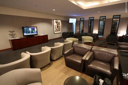Global First Lounge, sala vip exclusiva para passageiros voando na primeira classe da United
