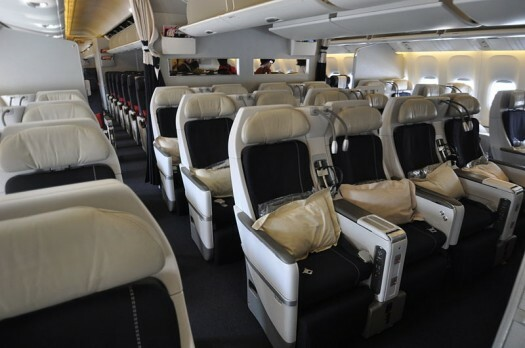 Como voar na classe premium voyageur da air france for Interieur 747 air france