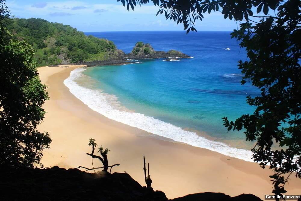 Praias sem aglomeração