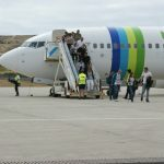 Transavia-desembarque