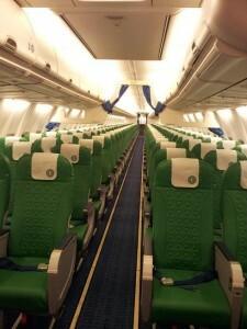 Transavia-interior
