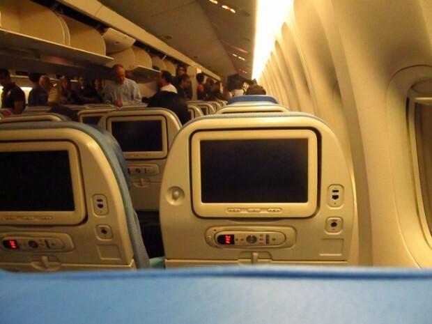 entretenimento de bordo