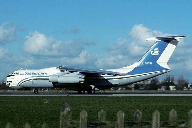 Um Ilyushin da Uzbekistan Airways