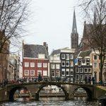 Amsterdã no inverno