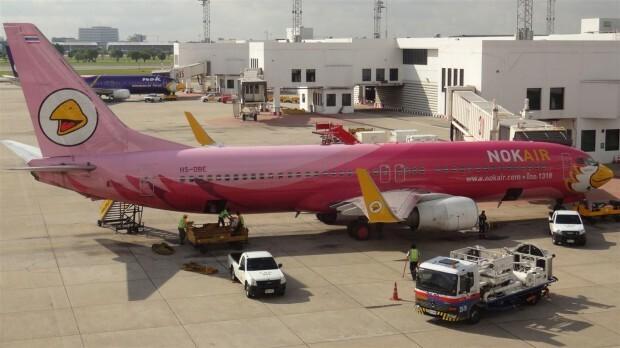 Avião Nok Air 1
