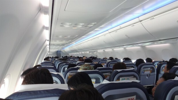 Interior Avião Nok Air