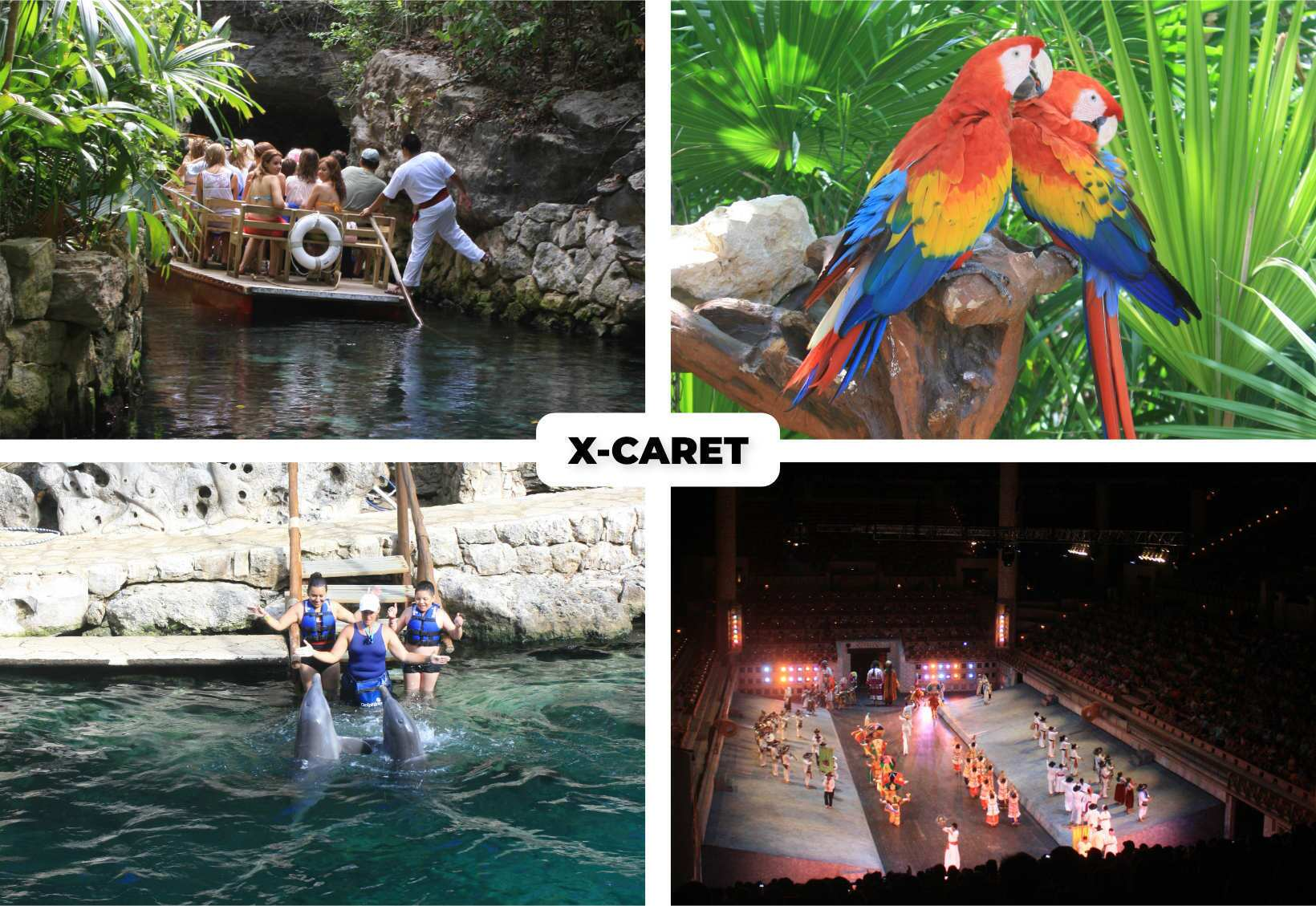 cancun parques x-caret