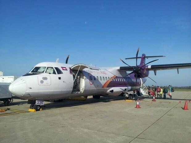 Embarque no Aeroporto de Siem Reap