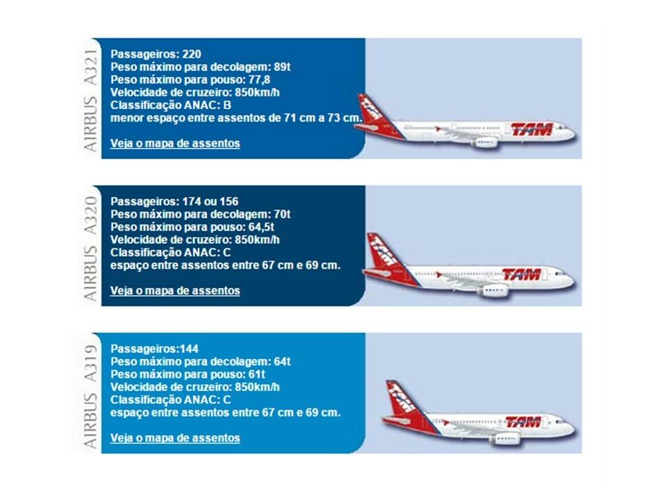 Como é voar nos modernos A321 da TAM nas rotas pelo Brasil