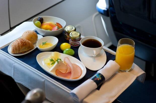 Café da manhã na business