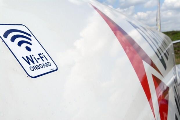 WiFi na aeronave da Delta (Fonte: Site Delta)