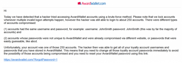 AwardWallet-Hacked-EMail
