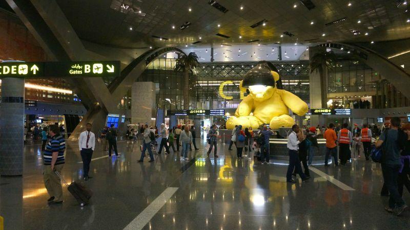 Aeroporto Del Qatar : Como é voar na qatar airways