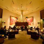 Lounge exclusivo da Sky Suite