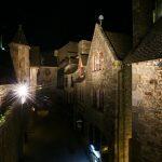Noite no Monte Saint-Michel