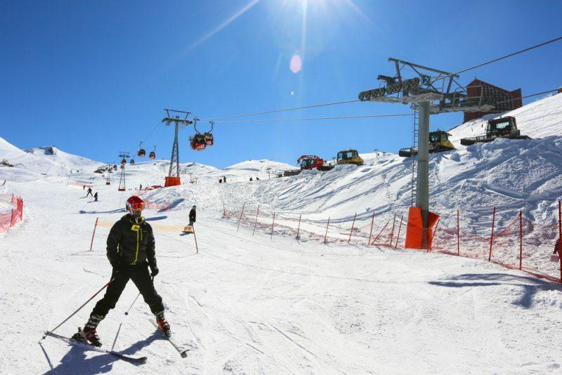 Valle Nevado passagens