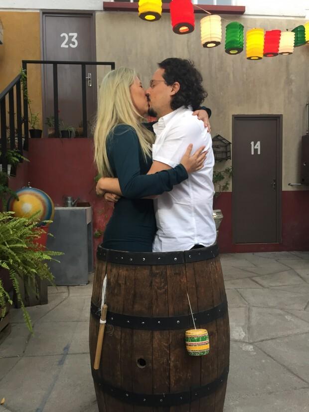 Beijo no barril