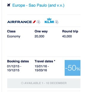 FlyingBlue-AirFrance-KLM-promo