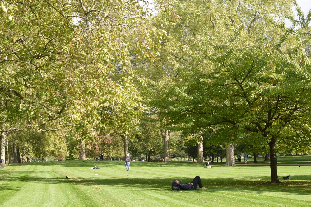 Relax no St. James's park