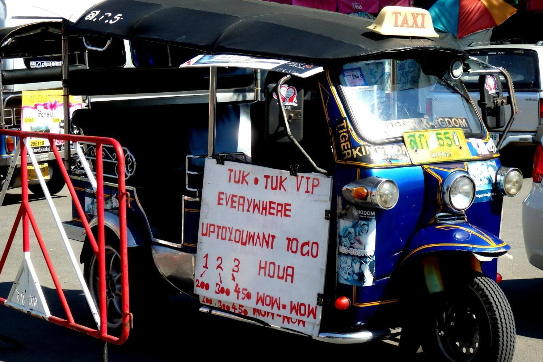Atenção aos golpes ao viajar para a Tailândia