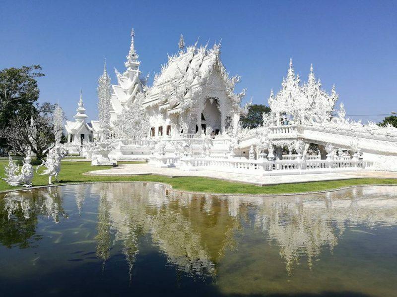 Templo Branco, em Chiang Rai