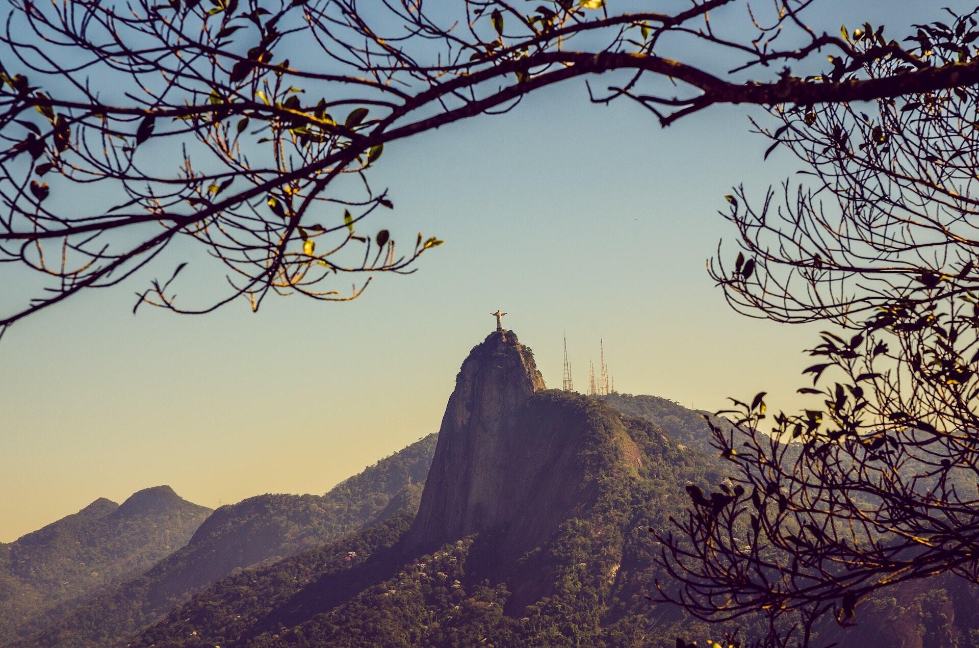 Cristo Redentor no alto do Corcovado, Rio de Janeiro