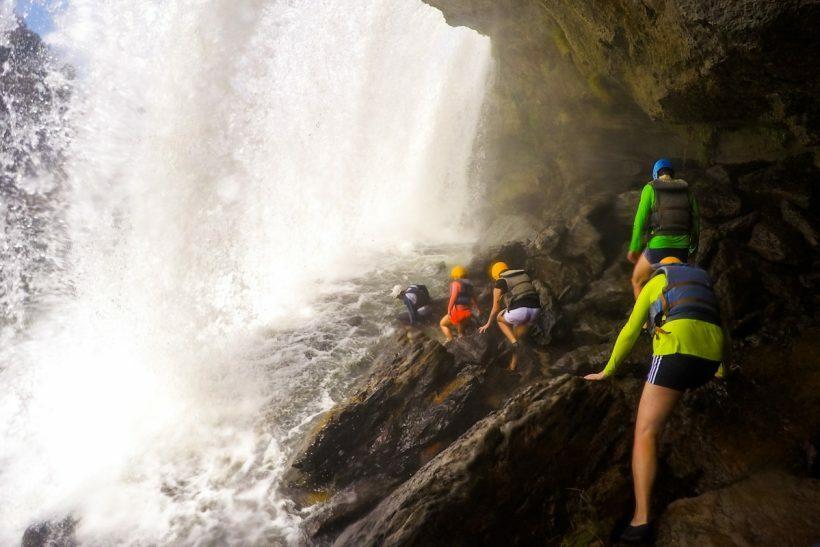 cachoeira para o final de semana