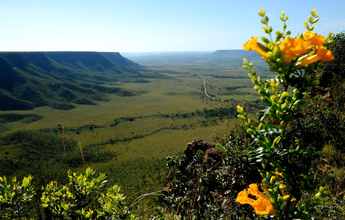 Mirante da Serra do Espírito Santo Jalapão