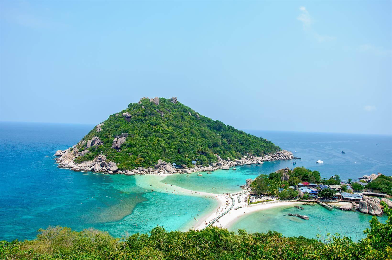 Melhores Ilhas e Praias da Tailândia: Koh Nang Yuan