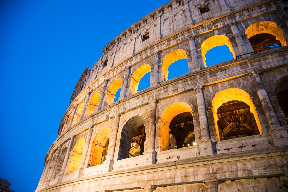 coliseo roma maravillas del mundo