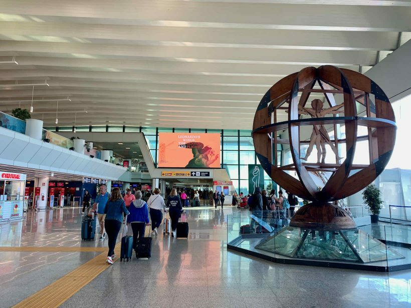 aeroporto roma italia
