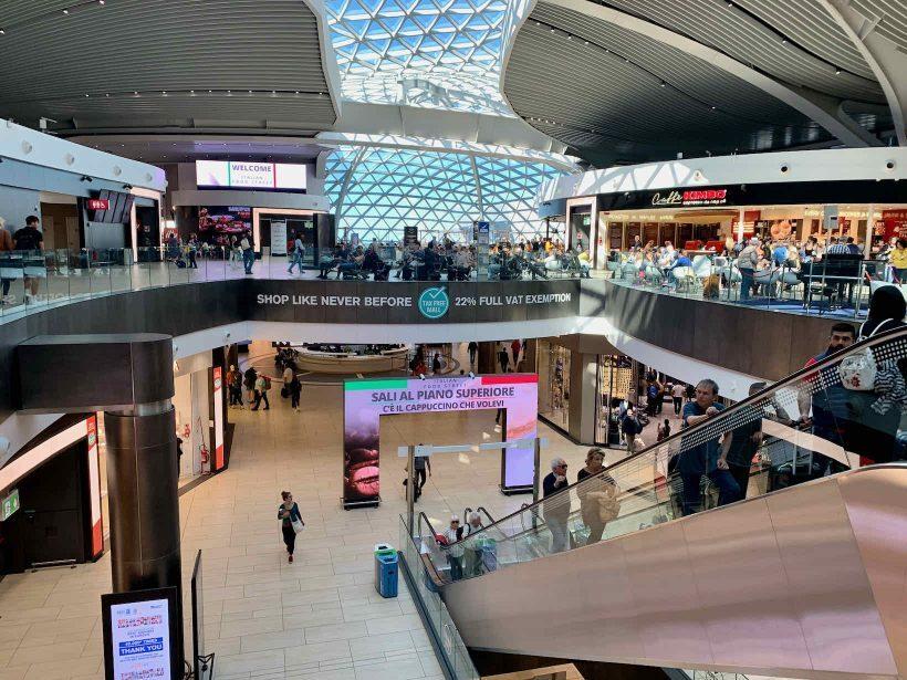 aeroporto roma leonardo da vinci