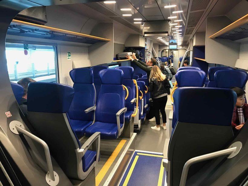 trem leonardo express roma