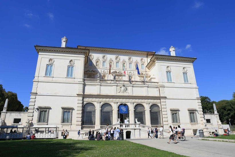 museus de roma galeria borghese
