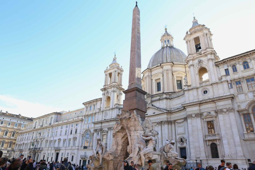 o que fazer em roma piazza navona