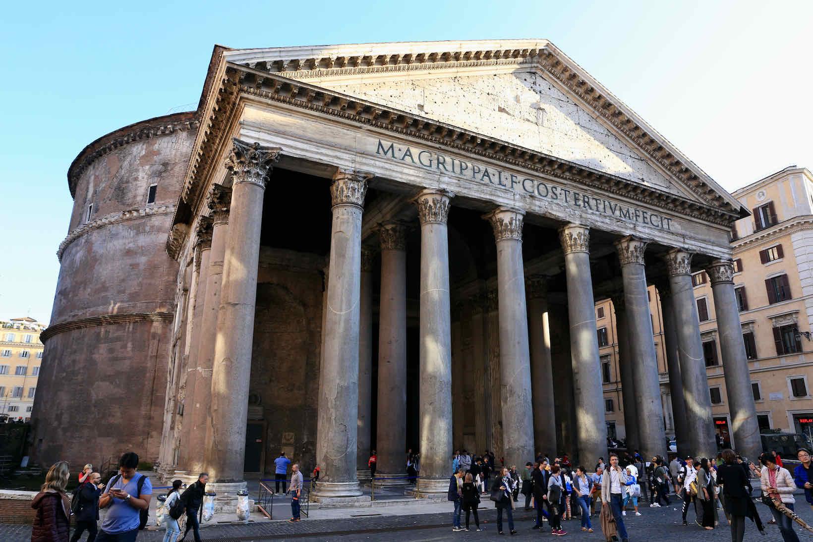 pontos turisticos de roma pantheon