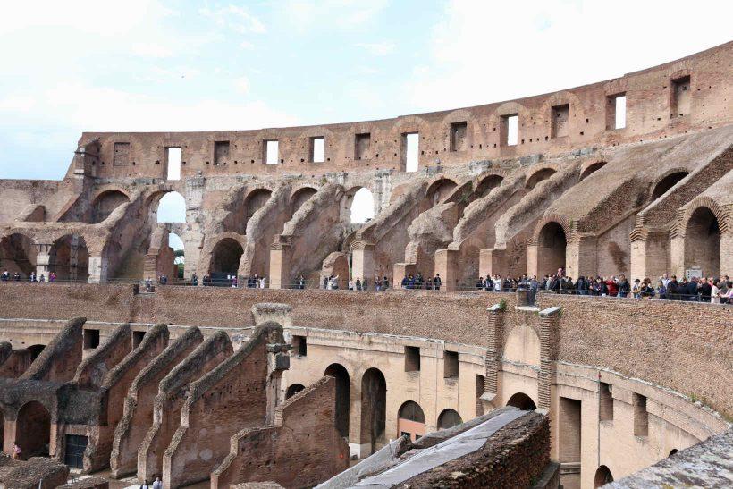 coliseu roma pontos turisticos