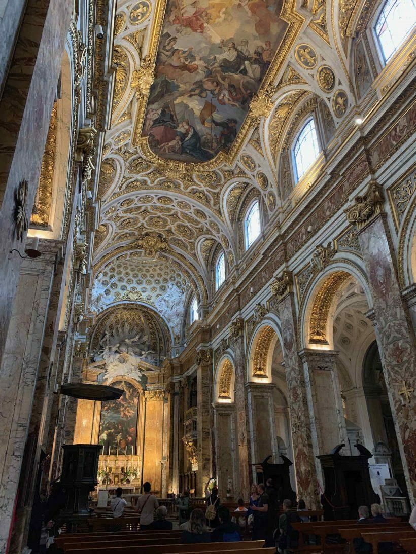 passeio igrejas de roma