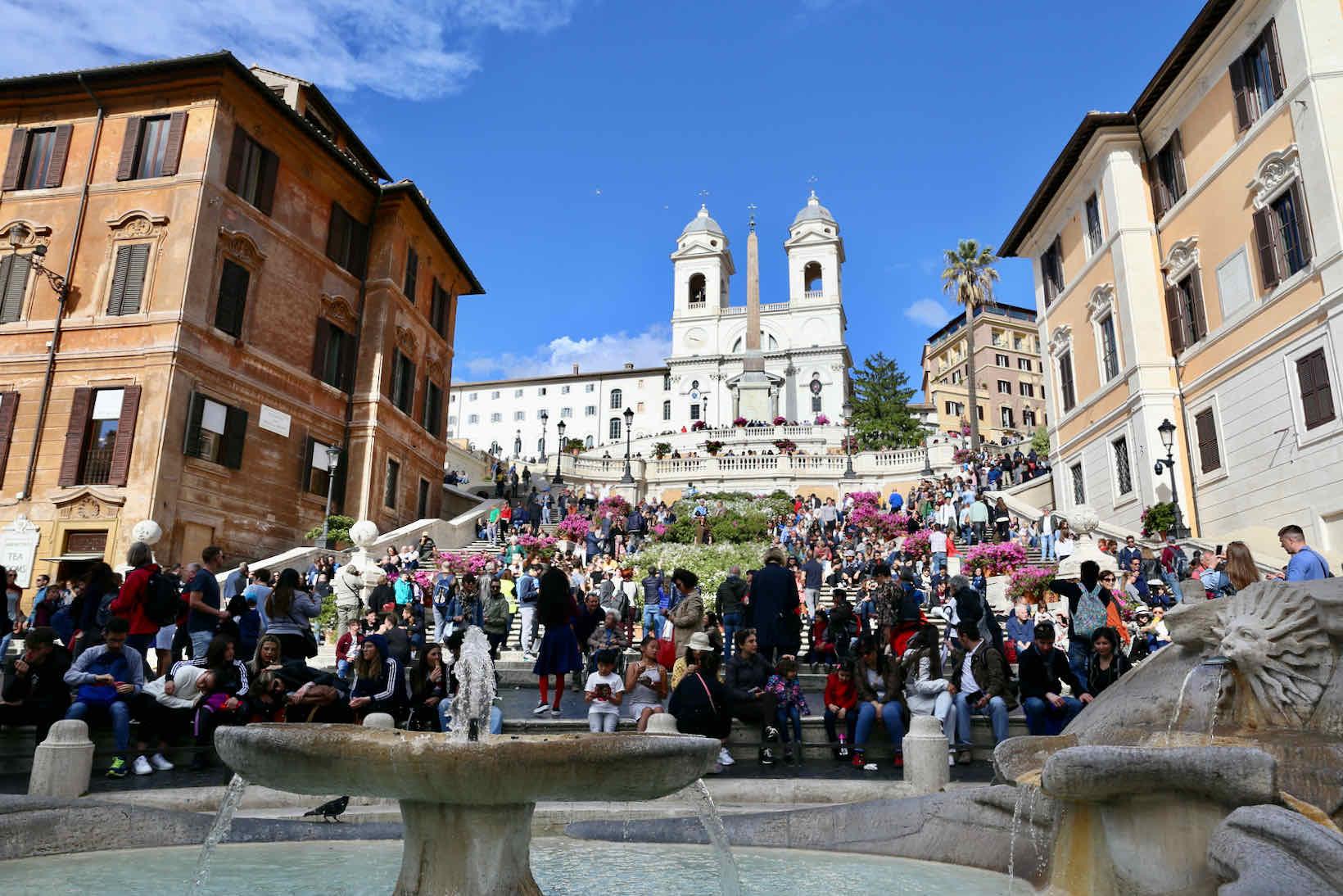 roma o que fazer piazza spagna