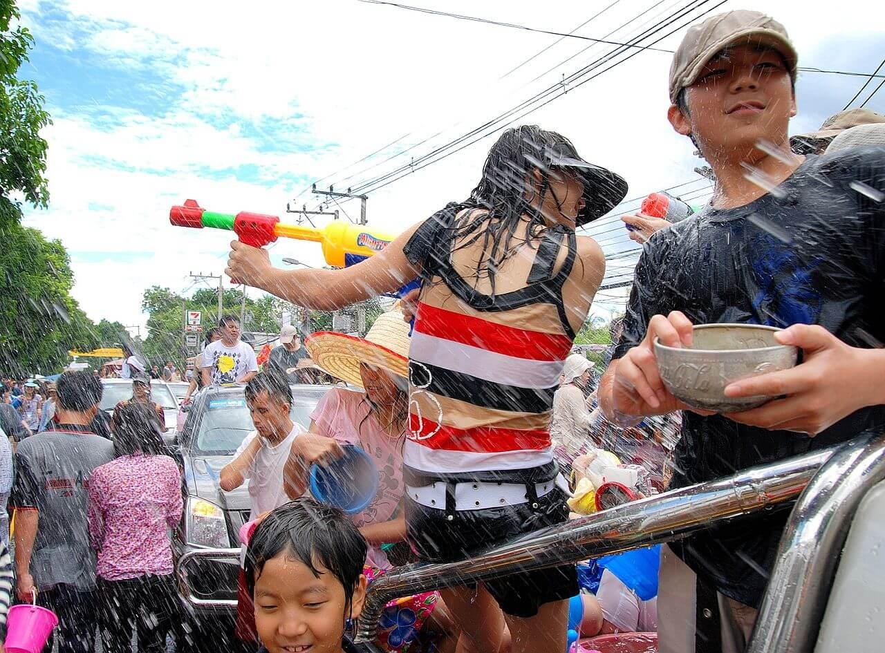 tailandia songkran ano novo tailandes