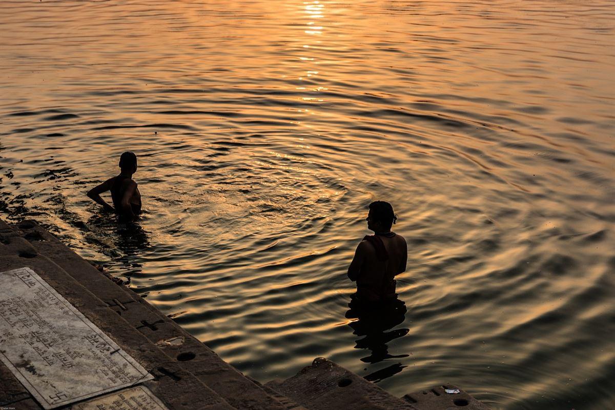 Mergulho no rio Ganges