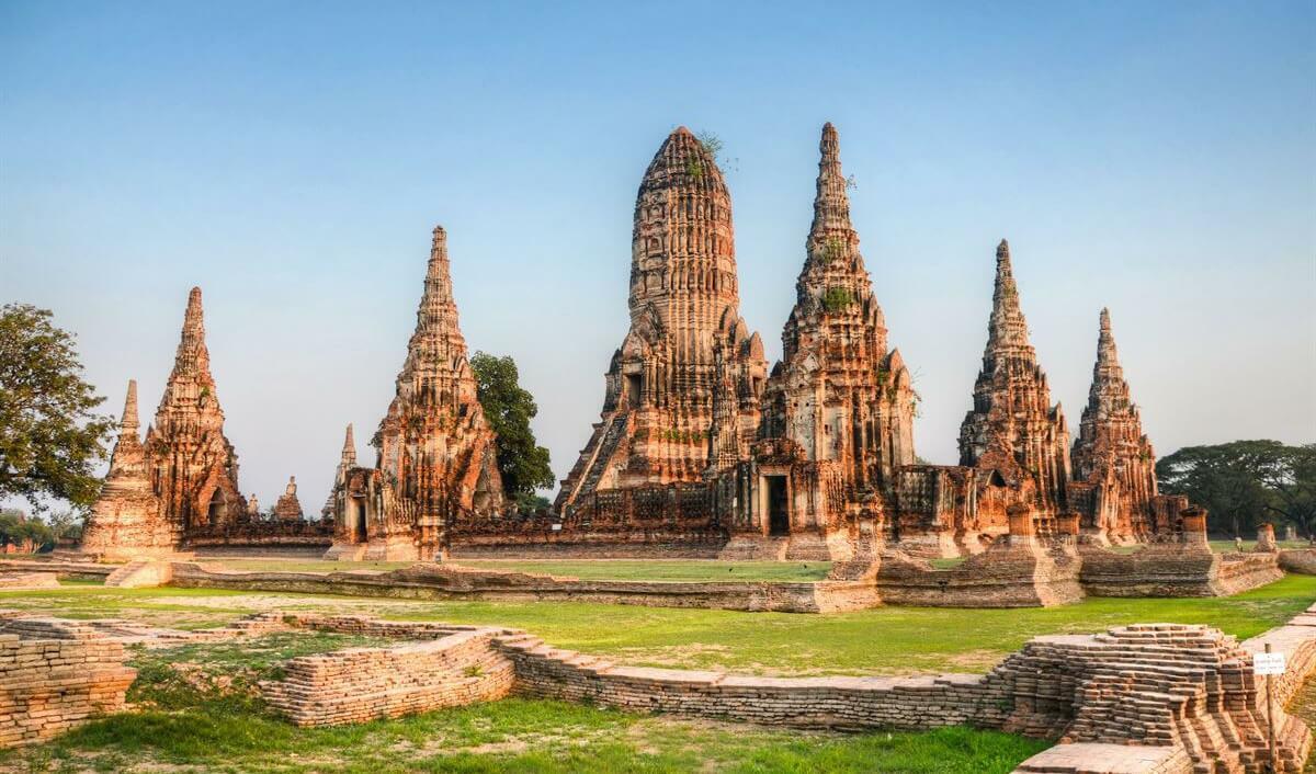 Ayutthaya. Tailândia
