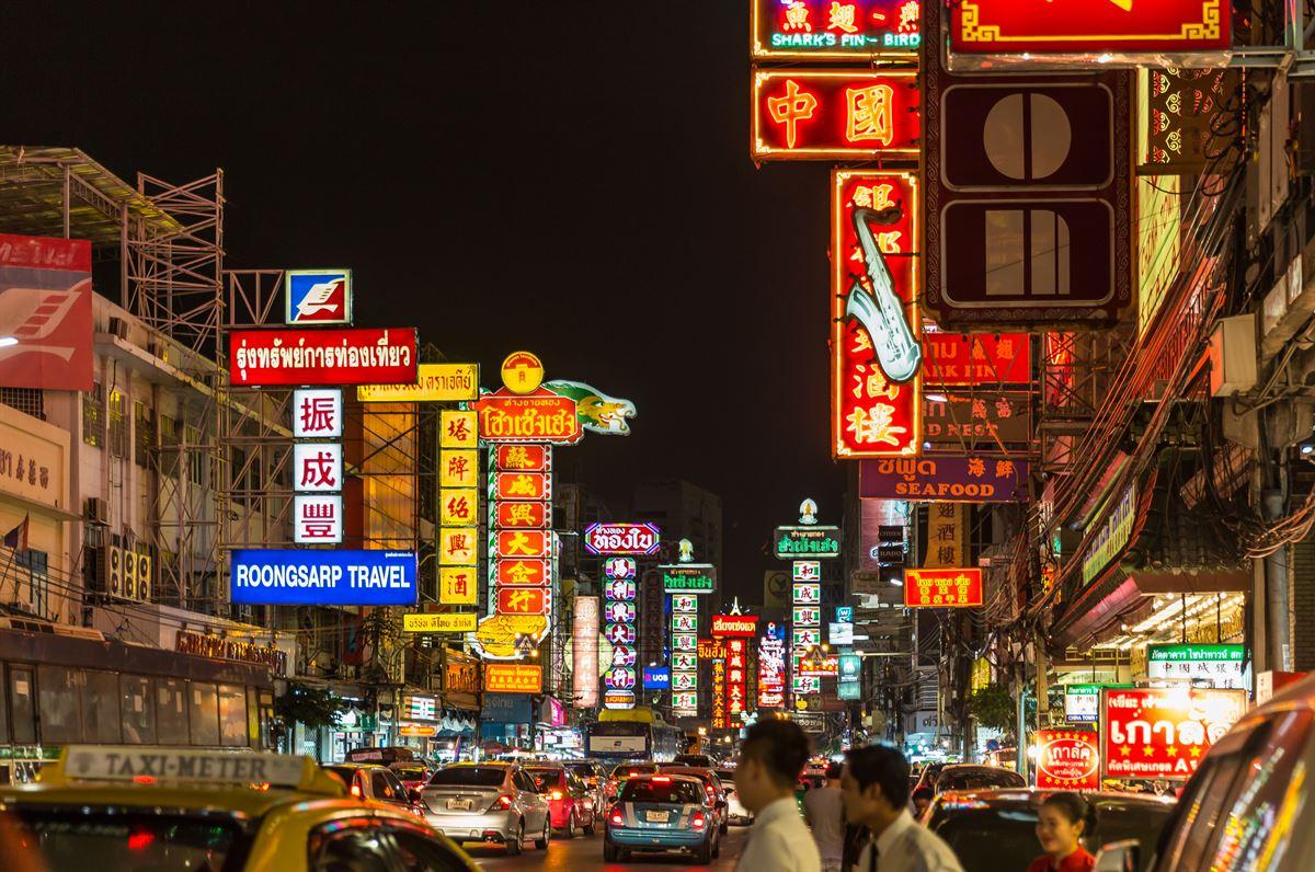 chinatown noite bangkok