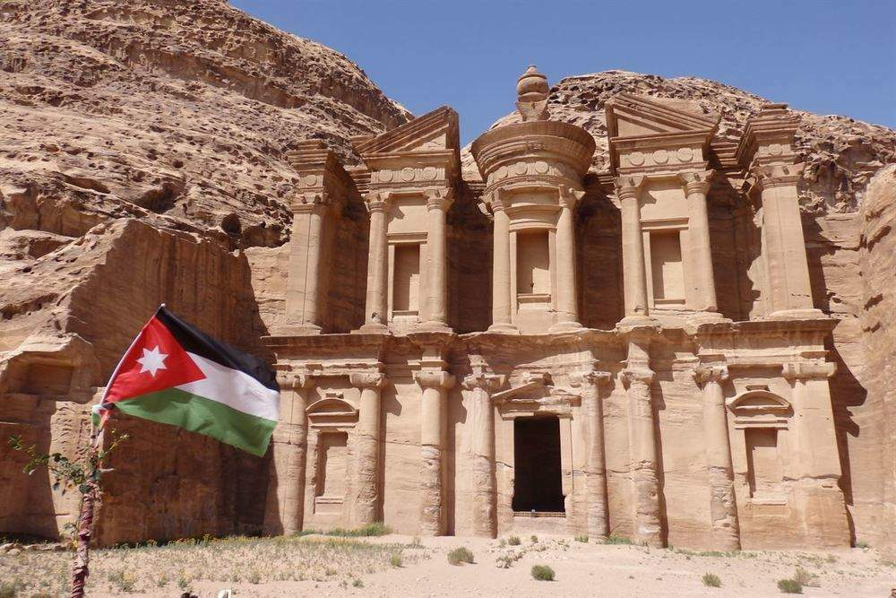 Monastério Al-Deir, Petra (Jordânia)