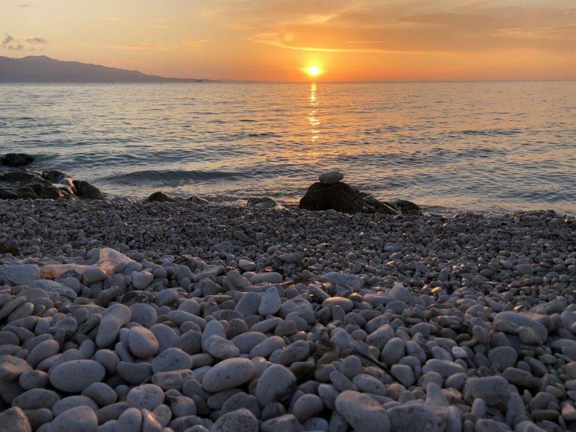 Saranda Por do Sol Albânia