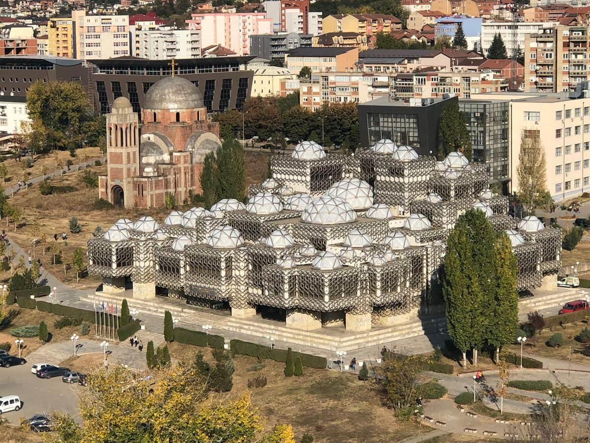 vista aerea kosovo