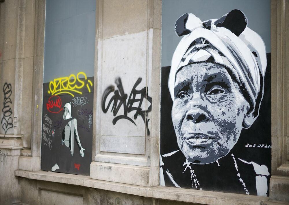 Arte nas ruas de Bruxelas