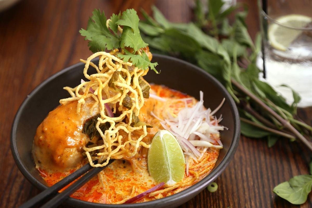 Khao Soi, comida tailandesa