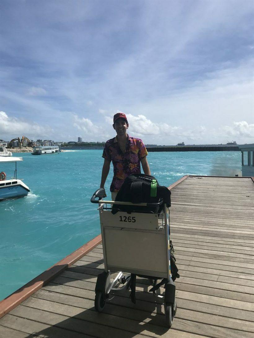 pier praia maldivas
